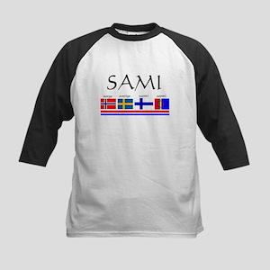 Sami souvenir Kids Baseball Jersey