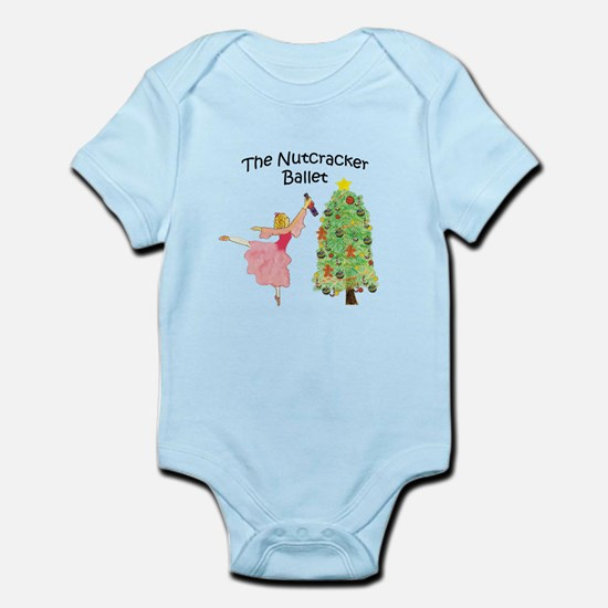 Clara and her nutcracker gift Infant Bodysuit