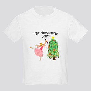 Clara and her nutcracker gift Kids Light T-Shirt
