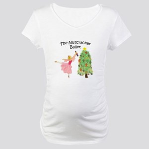 Clara and her nutcracker gift Maternity T-Shirt