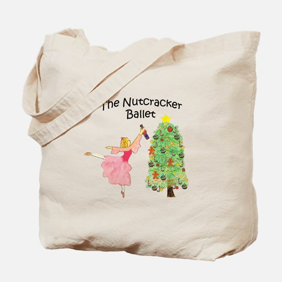 Clara and her nutcracker gift Tote Bag