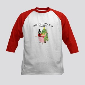 Nutcracker & Clara Kids Baseball Jersey