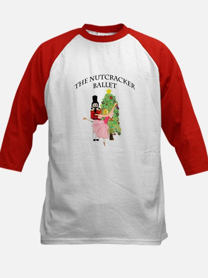 Nutcracker & Clara Kids Baseball Jersey