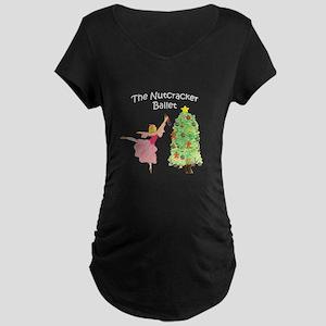 Nutcracker & Clara Maternity Dark T-Shirt