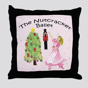 Nutcracker is IN Throw Pillow