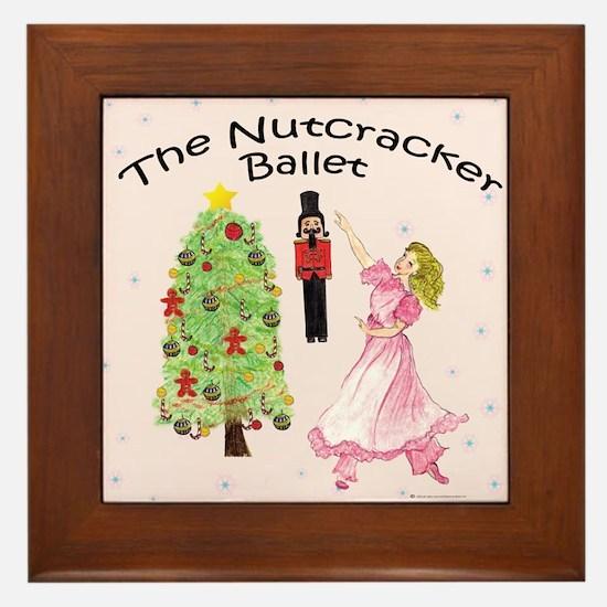 Nutcracker is IN Framed Tile