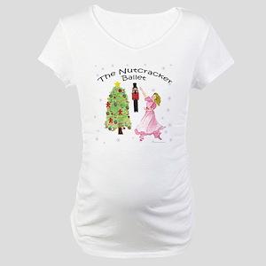 Nutcracker Christmas Maternity T-Shirt
