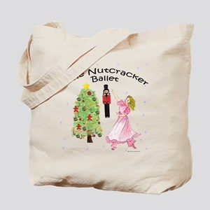 Nutcracker Christmas Tote Bag