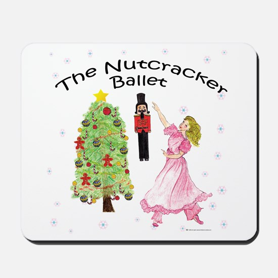 Nutcracker Christmas Mousepad