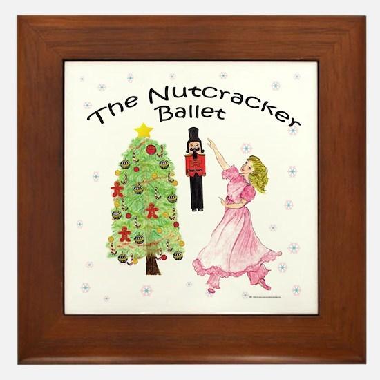 Nutcracker Christmas Framed Tile