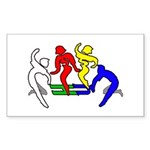 Tinikling Rectangle Sticker