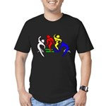 Tinikling Men's Fitted T-Shirt (dark)