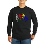 Tinikling Long Sleeve Dark T-Shirt
