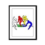 Tinikling Framed Panel Print