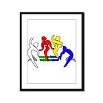 Tinikling Framed Panel Print