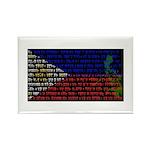 Watawat Rectangle Magnet (100 pack)