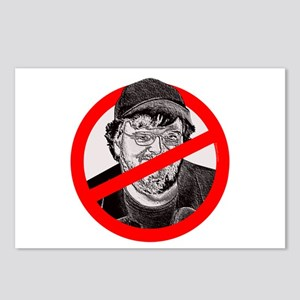 No More Michael Moore Postcards (Package of 8)