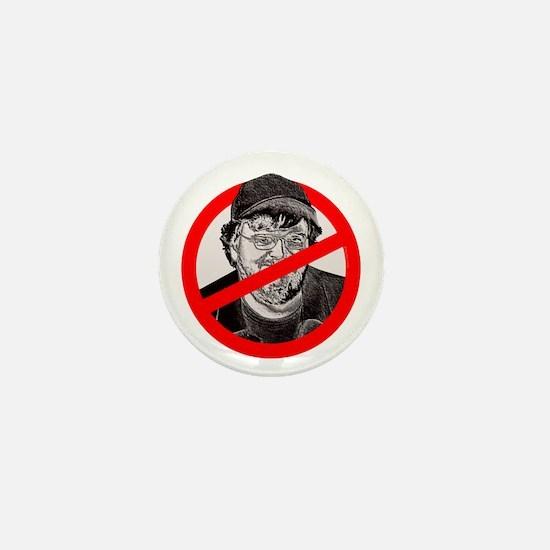 No More Michael Moore Mini Button