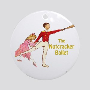 Clara & Nutcracker Ornament (Round)