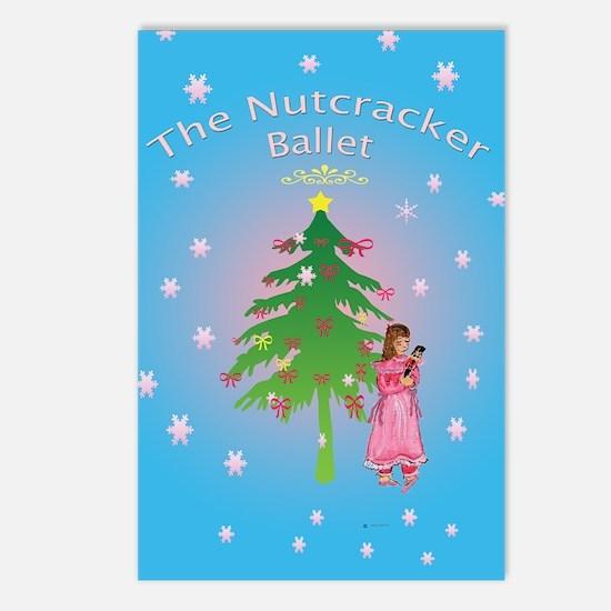 Clara, Nutcracker ballet Postcards (Package of 8)