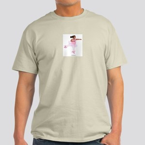 Wholesome Leaping Ballerina Light T-Shirt