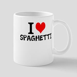 I Love Spaghetti Mugs