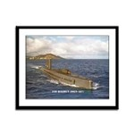 USS HALIBUT Framed Panel Print