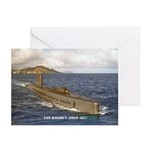 USS HALIBUT Greeting Cards (Pk of 10)