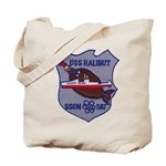 USS HALIBUT Tote Bag