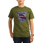 USS HALIBUT Organic Men's T-Shirt (dark)