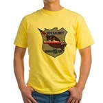 USS HALIBUT Yellow T-Shirt