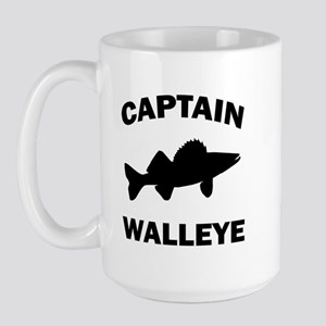 CAPTAIN WALLEYE Large Mug