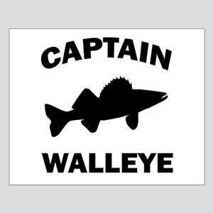 CAPTAIN WALLEYE Small Poster