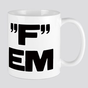 """F"" EM Mug"