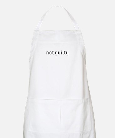 Not Guilty Apron