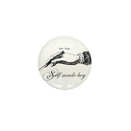 Self Made Boy mini button