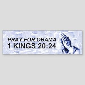 1 Kings 20:24 Bumper Sticker