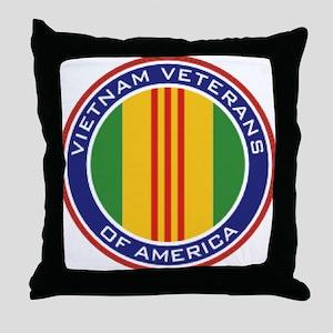 Vietnam Veterans Throw Pillow