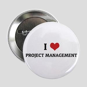 I Love Project Management Button