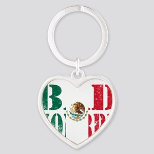 Bad Hombre Mexican Flag Keychains