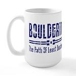Path of Least Existence Large Mug