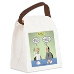 Meaningless Motions Canvas Lunch Bag