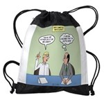 Meaningless Motions Drawstring Bag