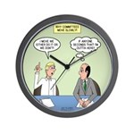 Meaningless Motions Wall Clock