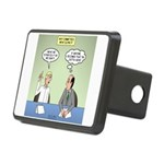 Meaningless Motions Rectangular Hitch Cover