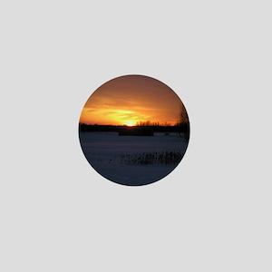 Winter Sunset 0246 Mini Button