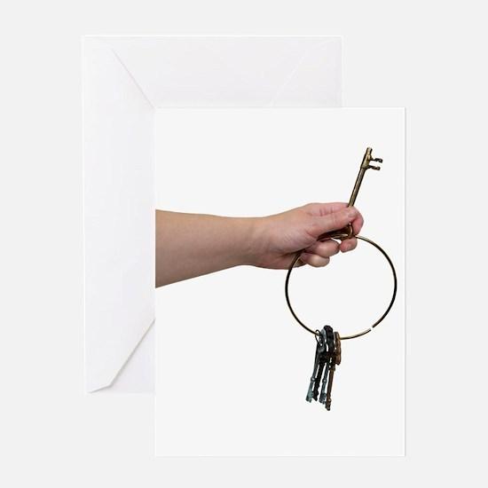 Key Use Greeting Card