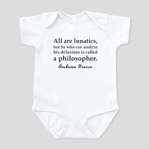 Bierce Philosophers Infant Bodysuit