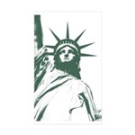 New York Souvenir Sticker (Rectangle 50 pk)