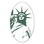 New York Souvenir Sticker (Oval 10 pk)